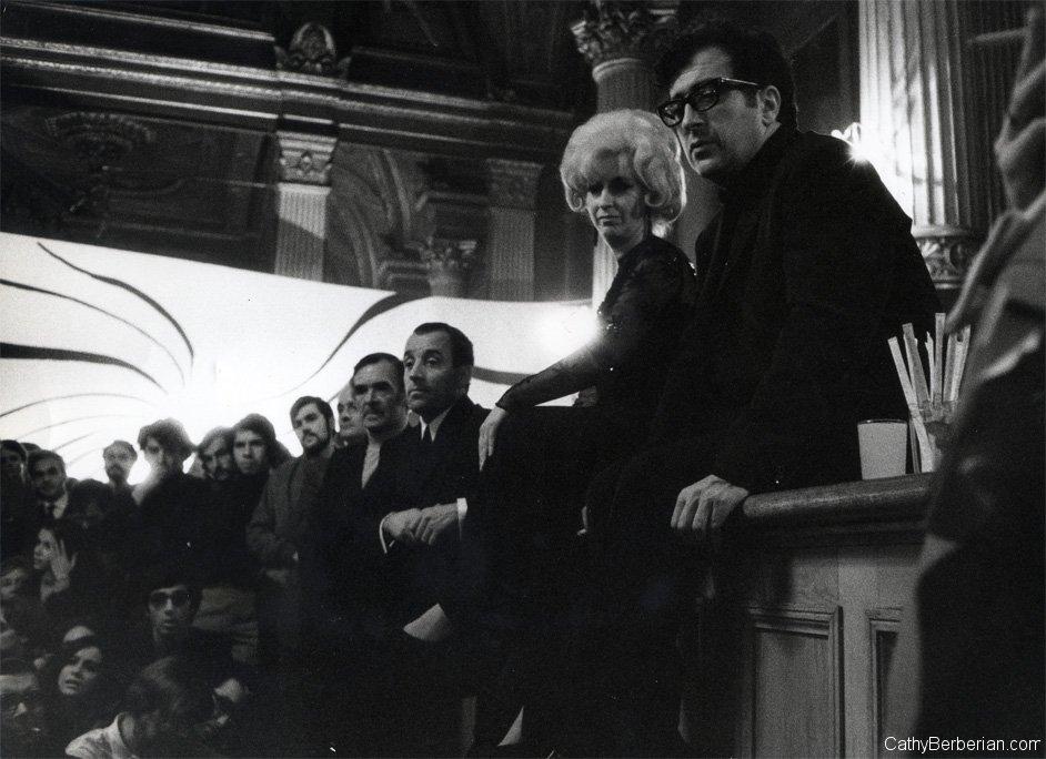 Berio e Berberian, after concert talk. www.cathyberberian.com