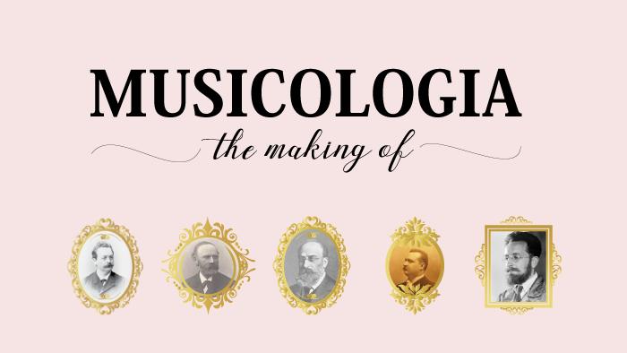 musicologia storia